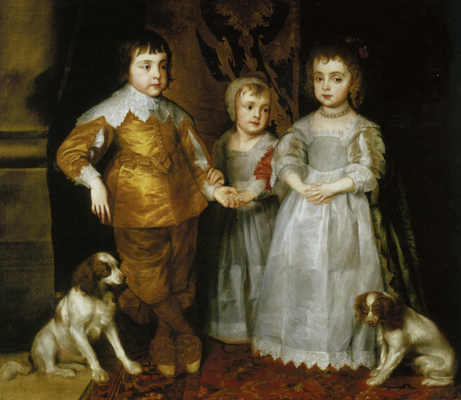 SIR-ANTONY-VAN-DYCK-PORTRAIT-OF-THE-THREE-ELDEST-CHILDREN-OF-CHARLES-I